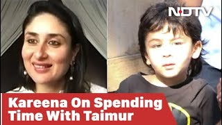 Grateful To Have So Much Time With My Son: Kareena Kapoor Khan