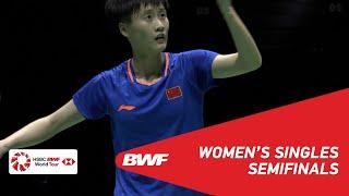 SF | WS | CHEN Yufei (CHN) [1] vs SUNG Ji Hyun (KOR) [4] | BWF 2019