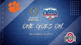 PlayStation Fiesta Bowl l Full Game 2019 l Collage Football Playoff Simifinal