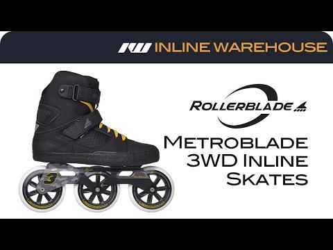 2017 Rollerblade Metroblade 3WD Skates Review