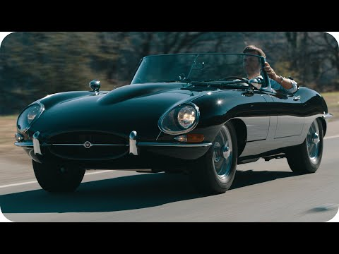 Justin Bell Takes You for a Ride in a Vintage Jaguar XKE // Omaze