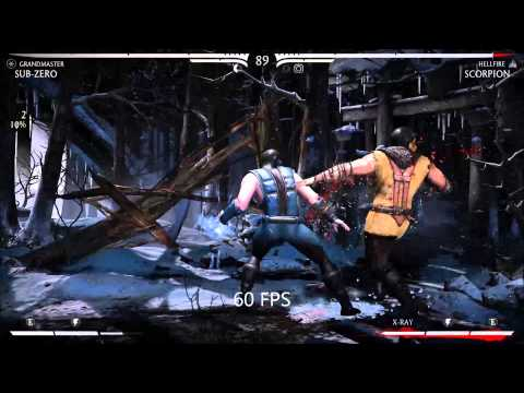 Mortal Kombat X Nvidia ShadowPlay test 30fps - смотреть