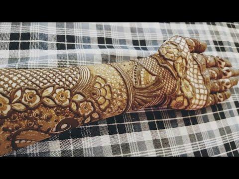 Download Khaleeji Henna Design 23 By Heena Vahid Trendysongs Com