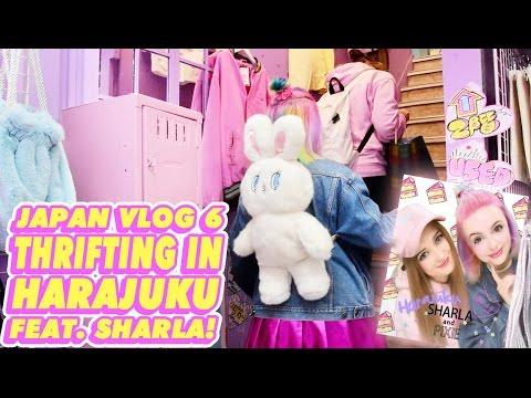 ♡ THRIFTING IN HARAJUKU WITH SHARLA IN JAPAN! | JAPAN VLOG 6 ♡