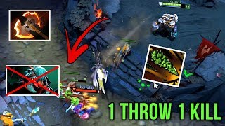 Most Insane Kill Ever One Tree Throw = 1 Kill Battlefury Build by Topson Dota 2