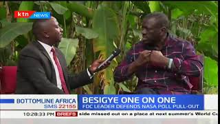 Bottomline Africa: Kizza Besigye on the Kenyan elections