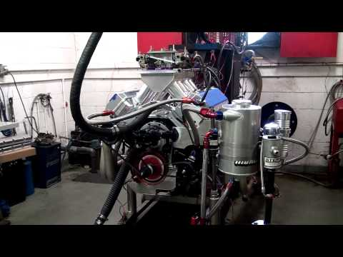 632 Big Block Chevy with a Tunnel Ram Intake Dyno Session