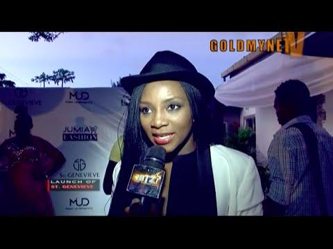 Stephanie Okereke, Funke Akindele at the launch of ST. GENEVIEVE