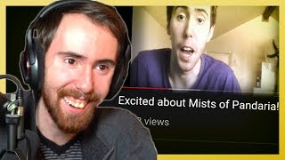 Asmongold Reacts to His First YouTube Videos! Why He Stopped Making WoW Videos