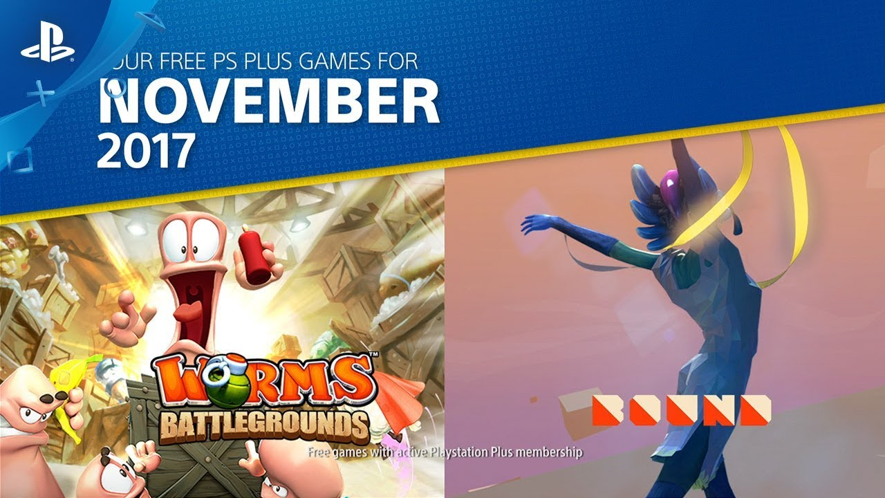 PS Plus: Free Games for November