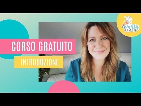 CORSO GRATUITO PARTY PLANNING - Intro al corso online