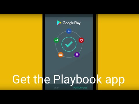 Playbook for Developers wideo