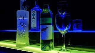 Custom Lighting Part 2 - LED Bar Shelves