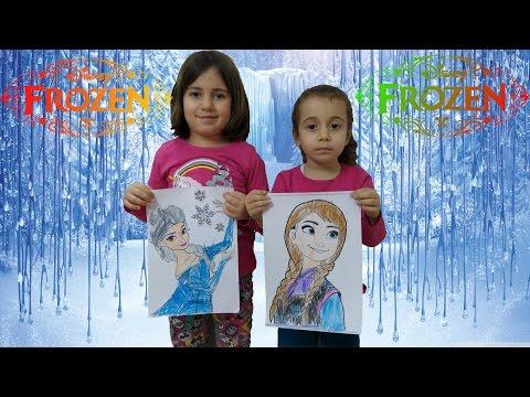 Download Disney Frozen Boyama Kapışması Arendellenin Prensesleri