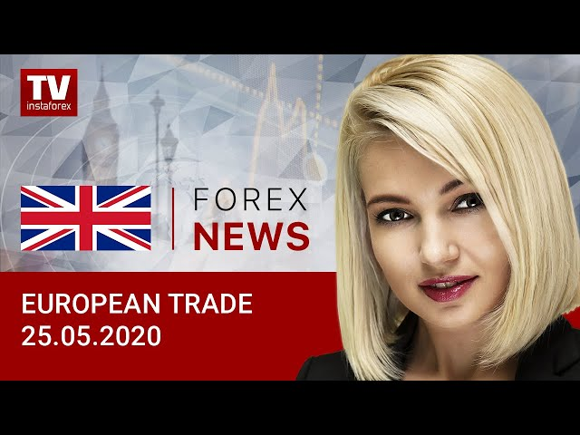 25.05.2020: EUR and GBP to recoup loses? Outlook for EUR/USD and GBP/USD.