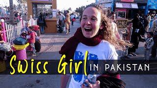 Swiss Girl is Visiting Pakistan & She Loves Pakistan!