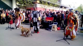 Индейцы на ВДНХ 09.05.2015