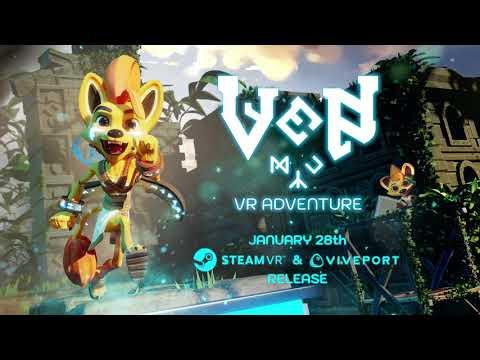 trailer de lancement SteamVR et Viveport de Ven VR Adventure