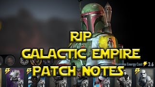 Star Wars: Force Arena - RIP Galactic Empire Patch Notes