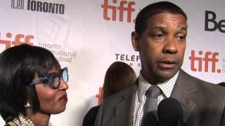 The Equalizer: Denzel & Pauletta Washington &  Exclusive TIFF Premiere Interview
