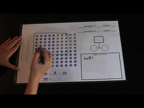 Teaching Multiplication & Division to 100 (Explain Your Brain Math Mat)