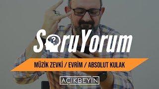 SoruYorum - Müzik Zevki / Evrim / Absolut Kulak / Sinan Canan ve Farklı Müzik Tarzları