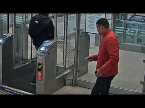 Ontsnapte inbreker vastgelegd op camera