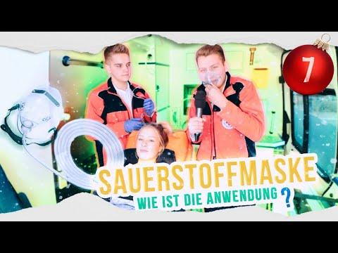 Rettungsdienst: SAUERSTOFFMASKE