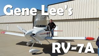 RV Aircraft Video - Gene Lee's RV-7A from Van's Aircraft