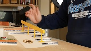 FINGERBOARDING THE BLACKRIVER G13 PARK WITH KELSEYFINGERBOARDS!!! (Clips and Funny Moments)