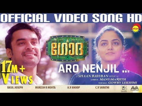 Aaro Nenjil - Godha Malayalam movie song-Tovino Thomas,Wamiq