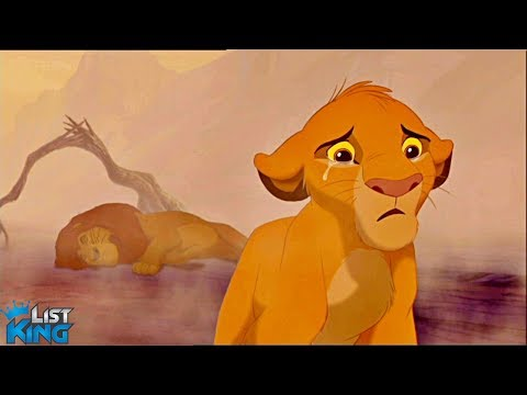 5 Heartbreaking Disney Movie Scenes That Were Way Too Real | LIST KING