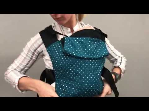 How to put the Integra baby carrier on correctly