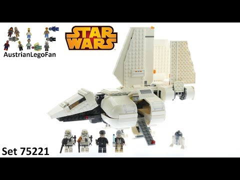 Vidéo LEGO Star Wars 75221 : Imperial Landing Craft