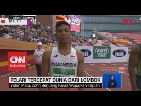 Lalu Zohri, Pelari Tercepat Dunia Dari Lombok