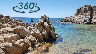 One day at the office - Recording Sunset and the Ocean for Acerting Art - 360 Video