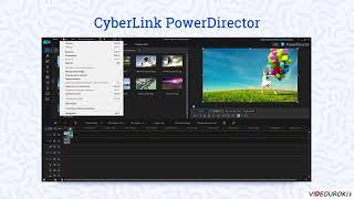 Знакомство с программой PowerDirector. Интерфейс программы