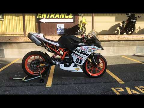 2015 KTM RC 390 in Auburn, Washington - Video 1