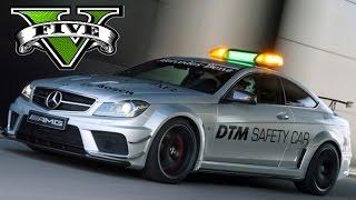 Mercedes C63 DTM Safety car + Rally Vespas Team Porsche Skins