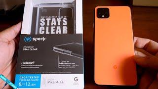 Speck Google Pixel 4 XL Stay Clear Case!
