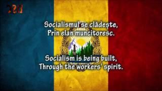 "Romanian anthem ""3 Culori"" Lyrics RO/EN (1977–1989)"