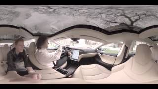 Tesla Model S im 360° Video   CHIP