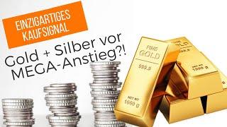 EINZIGARTIGES Kaufsignal: Gold + Silber vor MEGA-Anstieg?!