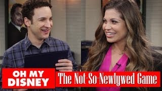 The Not-So-Newlywed Game With Ben Savage And Danielle Fishel | Oh My Disney