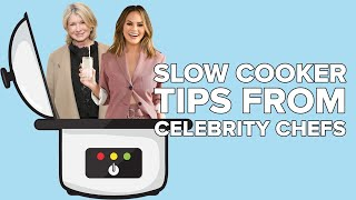 Slow Cooker Tips From Celebrity Chefs