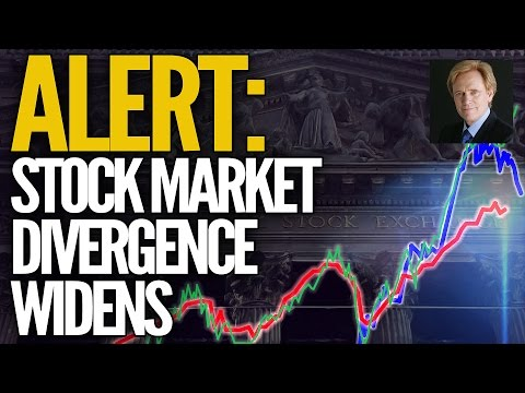 ALERT: Stock Market Divergence Widens - Gold Price For The Win