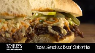 Bentley's Bar Inn Restaurant: Texas Smoked Beef Ciabatta
