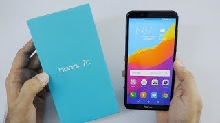 Huawei Honor 7C Affordable Smartphone Unboxing & Overview