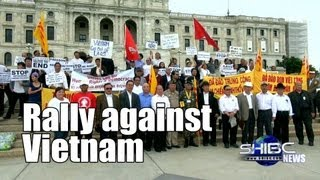 Suab Hmong News: Hmong, Lao, Vietnamese, and Cambodia rally against Vietnam officials visit USA