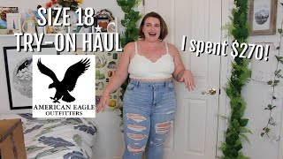 SIZE 18 American Eagle Try-on Haul